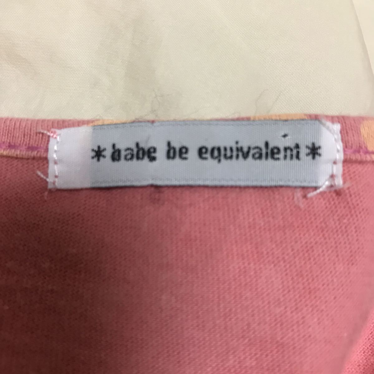 ピンクヒョウ柄 カットソー 半袖Tシャツ