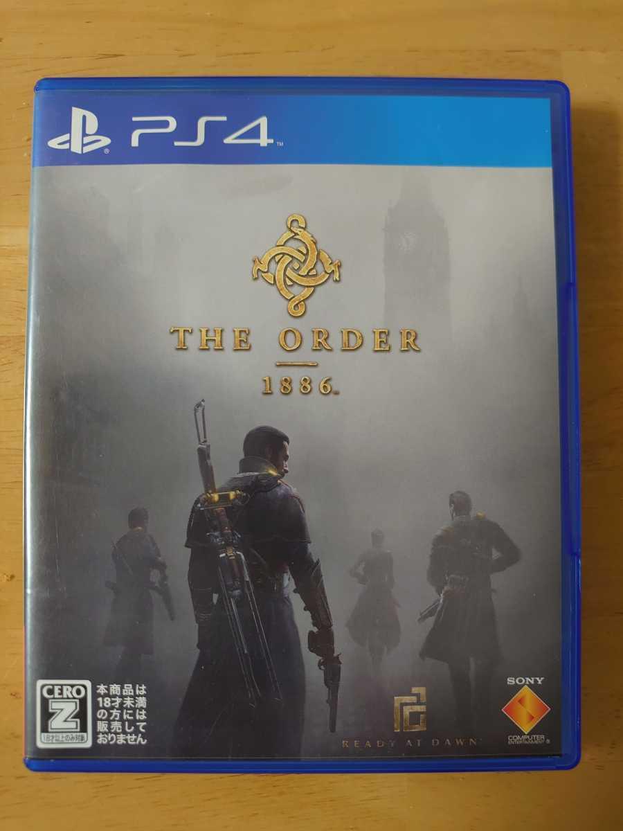 中古 PS4 THE ORDER 1886