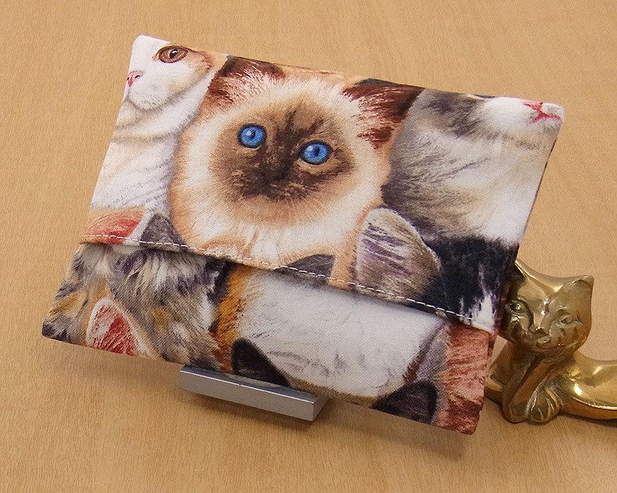 09-a T ハンドメイド 手づくり ティッシュ カバー ケース バーマン F 凛々しい ともだち 猫 ネコ ねこ キャット プレゼント 贈り物_一般的なポケットティッシュがはいります。