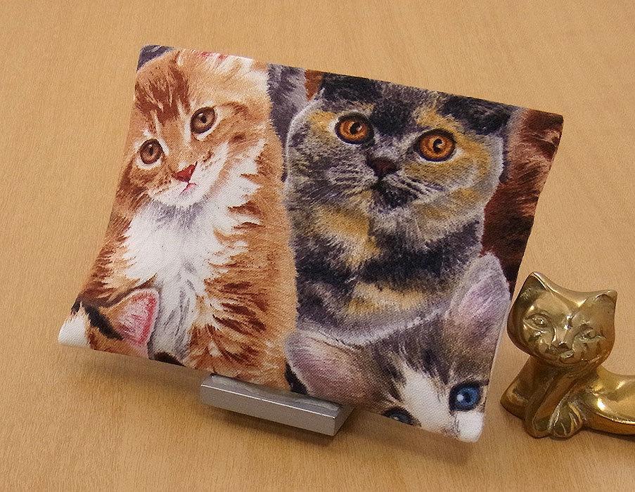 09-a T ハンドメイド 手づくり ティッシュ カバー ケース バーマン F 凛々しい ともだち 猫 ネコ ねこ キャット プレゼント 贈り物_1枚仕立てです。