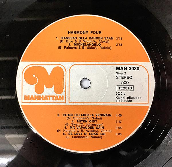 激レア試聴♪Bob Azzam/Let's Celebrateフィンランド レアカバ-■Harmony Four/オルガンバー/ソフトロック/MURO/Garden Of Love/★送料無料