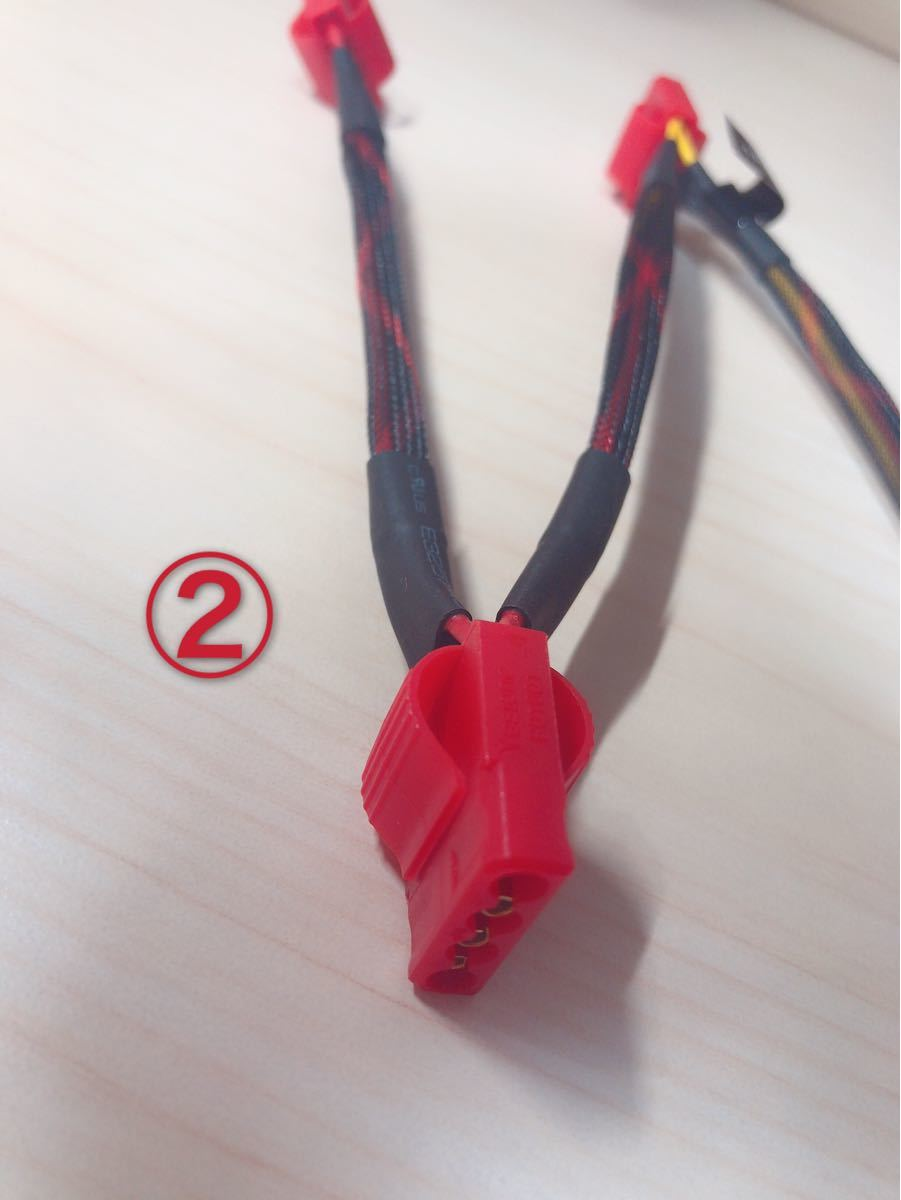 PSUケーブル 電源ケーブル 4PIN 6PIN PCケーブル