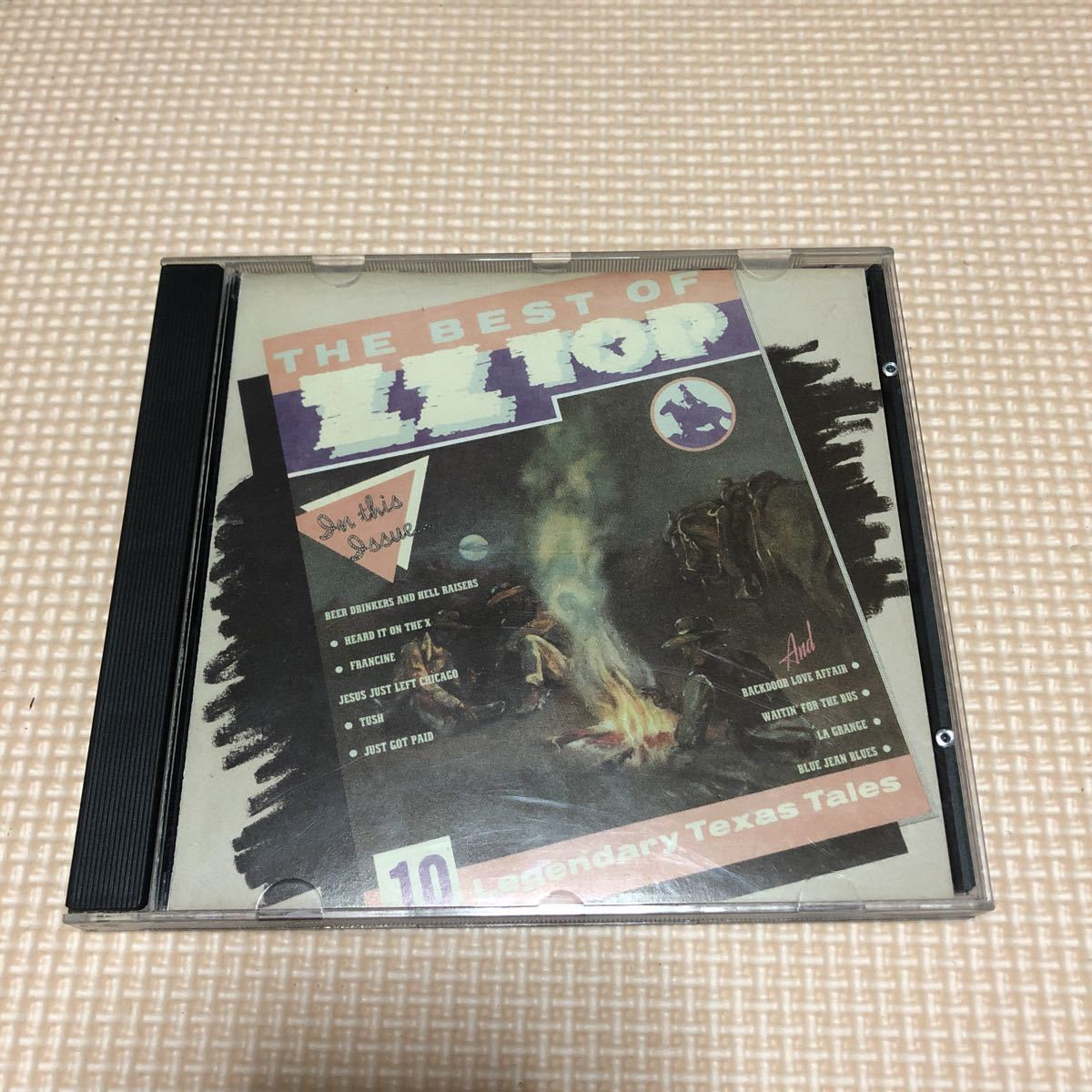 ZZ Top The Best Of ZZ Top USA盤CD
