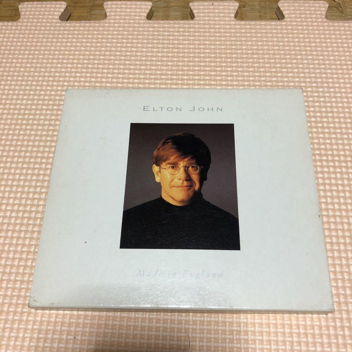 エルトン・ジョン メイド・イン・イングランド 国内盤CD