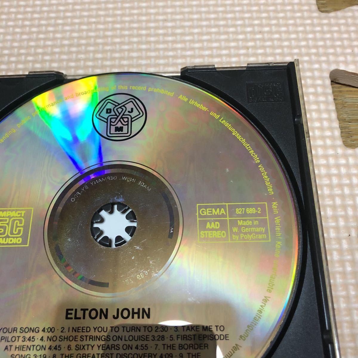 エルトン・ジョン エルトン・ジョン ドイツ盤国内仕様解説付きCD