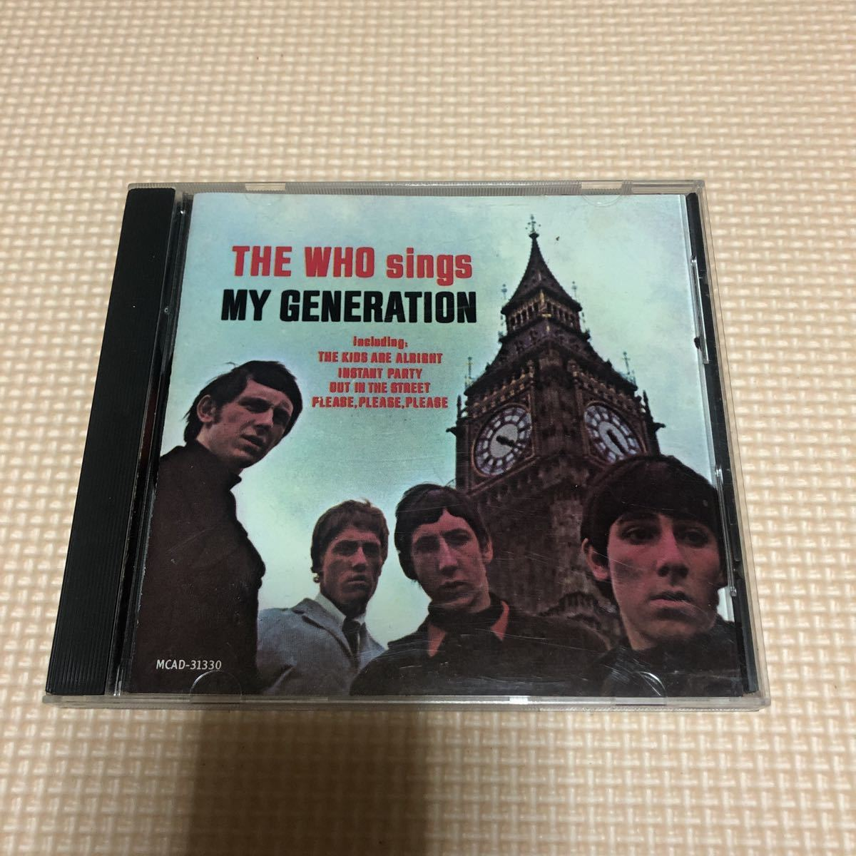 ザ・フー The Who The Who Sings My Generation USA盤CD