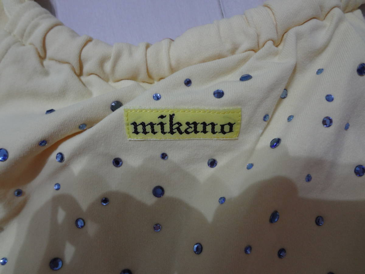 MIKANO ミカノ ミカランセ トップス サイズM フィットネスウェア  27