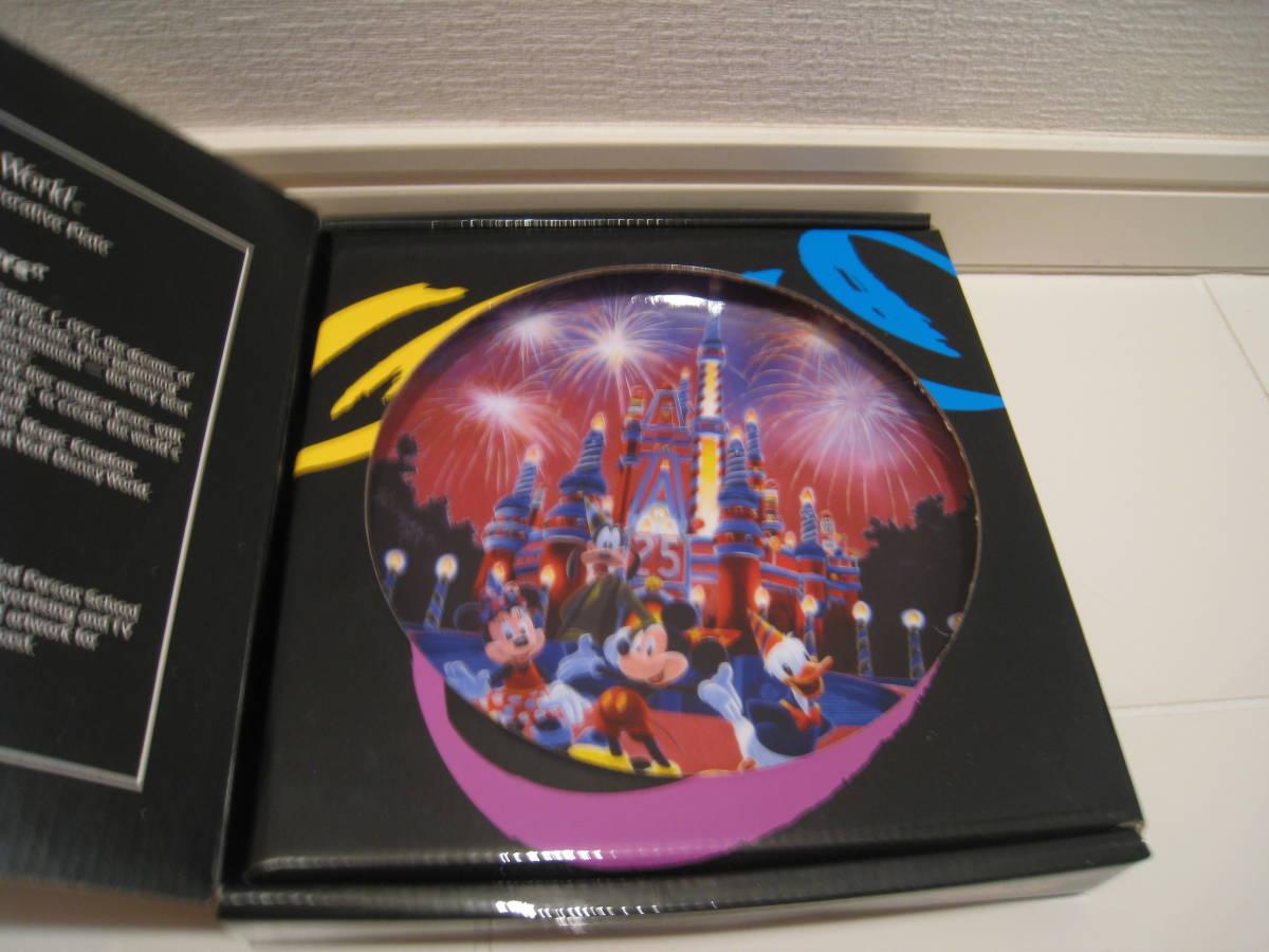 21 ウォルトディズニーワールド 25周年 ピクチャー プレート The Atr of ディズニー U.S.A 未使用_画像8