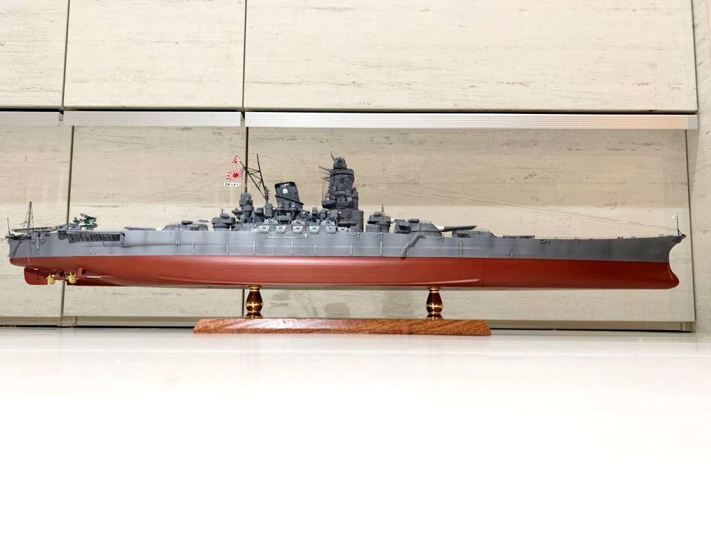 1/350 戦艦 大和 大日本帝国海軍 模型 精密完成品 プラモデル タミヤ_画像5