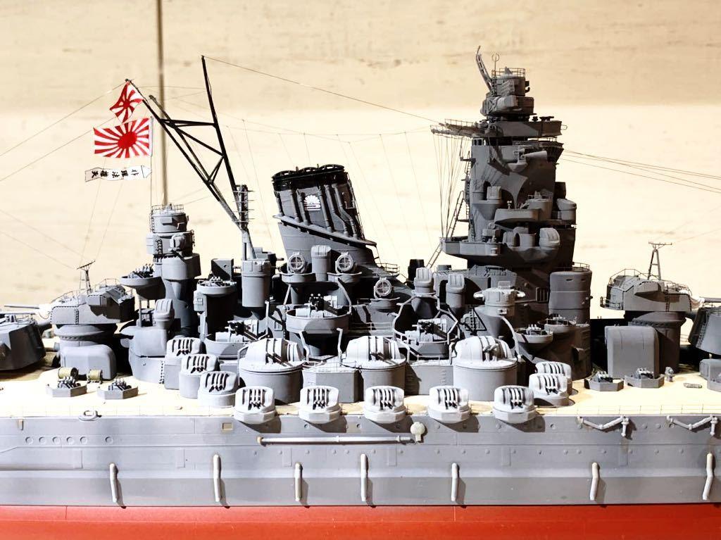 1/350 戦艦 大和 大日本帝国海軍 模型 精密完成品 プラモデル タミヤ_画像9