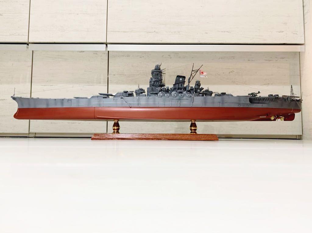 1/350 戦艦 大和 大日本帝国海軍 模型 精密完成品 プラモデル タミヤ_画像2