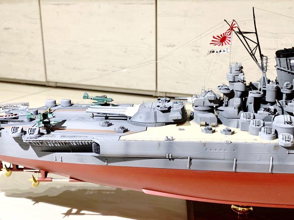 1/350 戦艦 大和 大日本帝国海軍 模型 精密完成品 プラモデル タミヤ_画像10