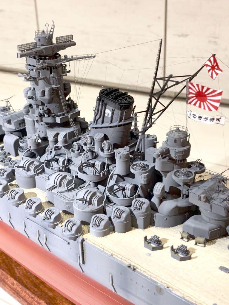 1/350 戦艦 大和 大日本帝国海軍 模型 精密完成品 プラモデル タミヤ_画像4