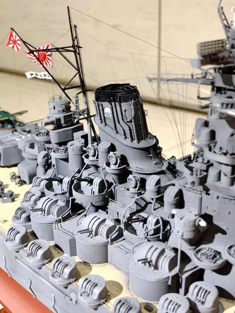 1/350 戦艦 大和 大日本帝国海軍 模型 精密完成品 プラモデル タミヤ_画像3