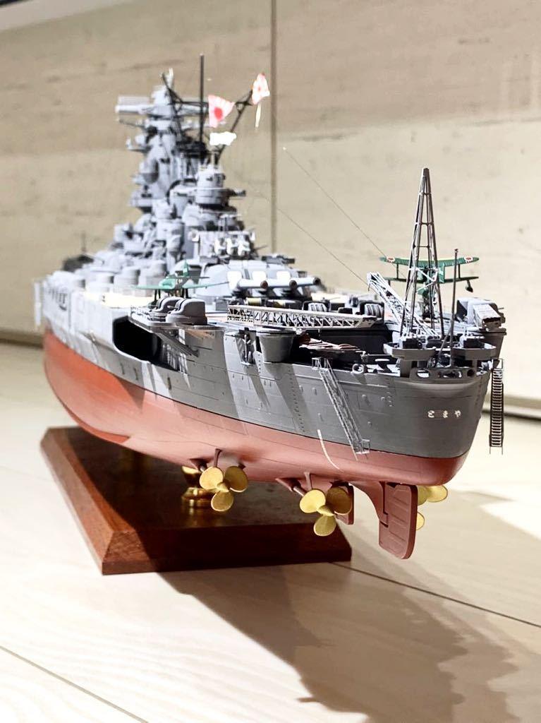 1/350 戦艦 大和 大日本帝国海軍 模型 精密完成品 プラモデル タミヤ_画像6