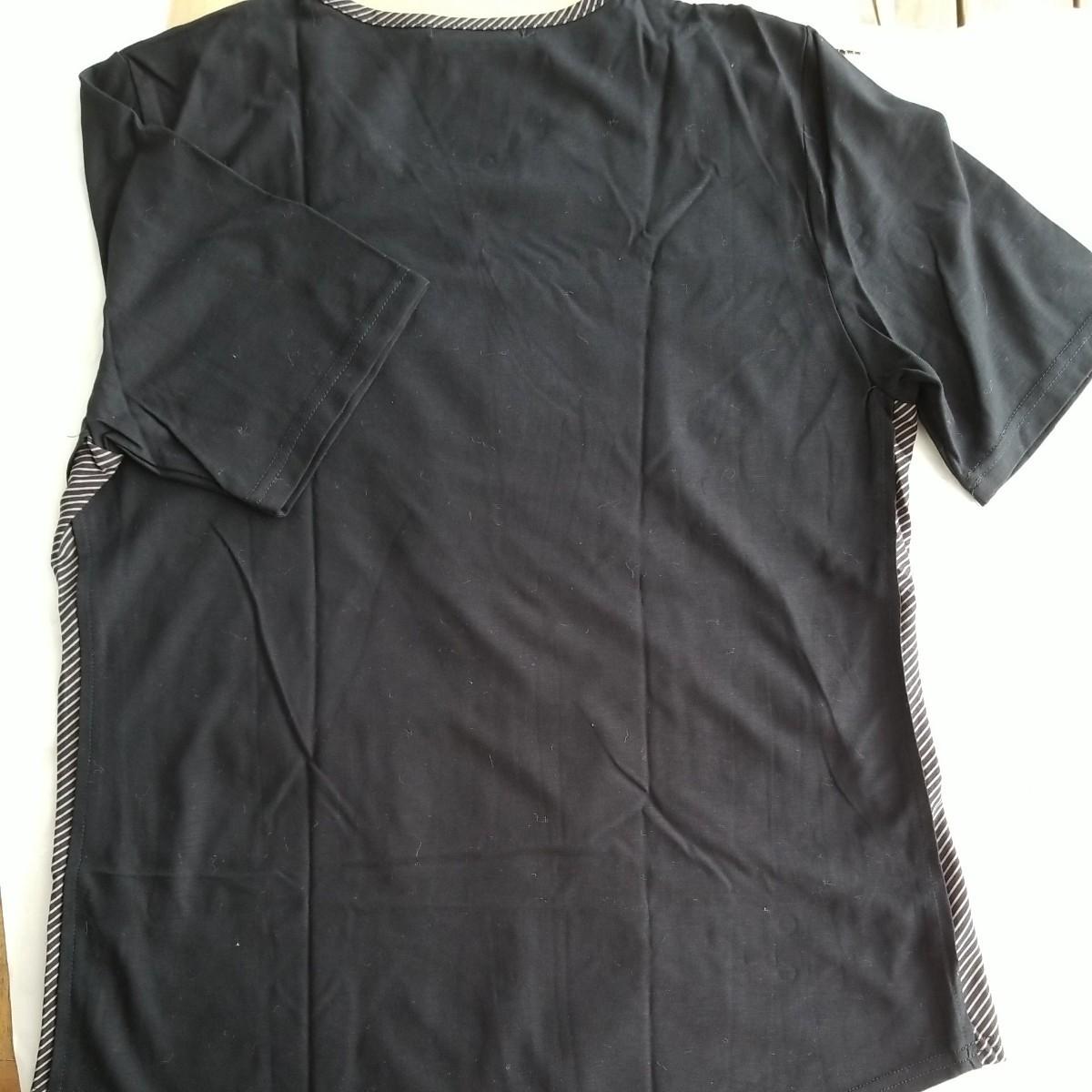 半袖Tシャツ ビーズ刺繍 カットソー