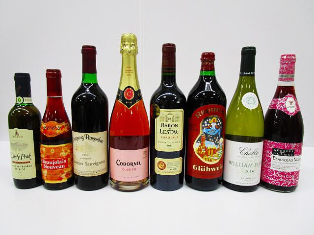 [即日発送]★未開封★ワイン 8本セット ② フランス/ドイツ/スペイン他 ボジョレー/シャブリ/赤/白/ロゼ いろいろ飲み比べ 古酒 331_画像2