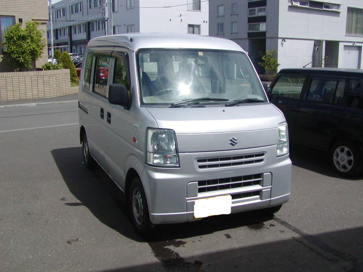 「スズキ エヴリィ 4WD AT 車検付き! 売り切り! 札幌より」の画像1