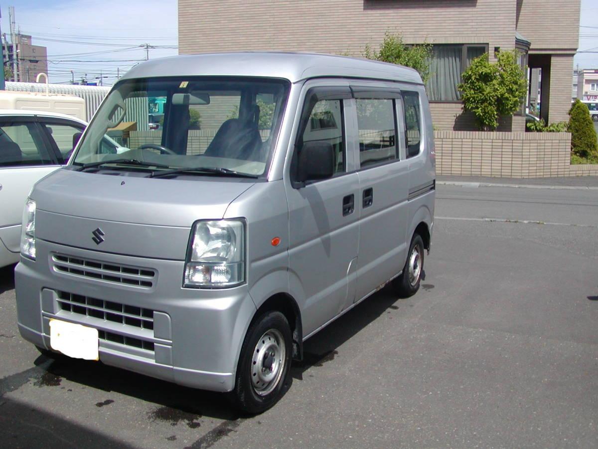 「スズキ エヴリィ 4WD AT 車検付き! 売り切り! 札幌より」の画像2