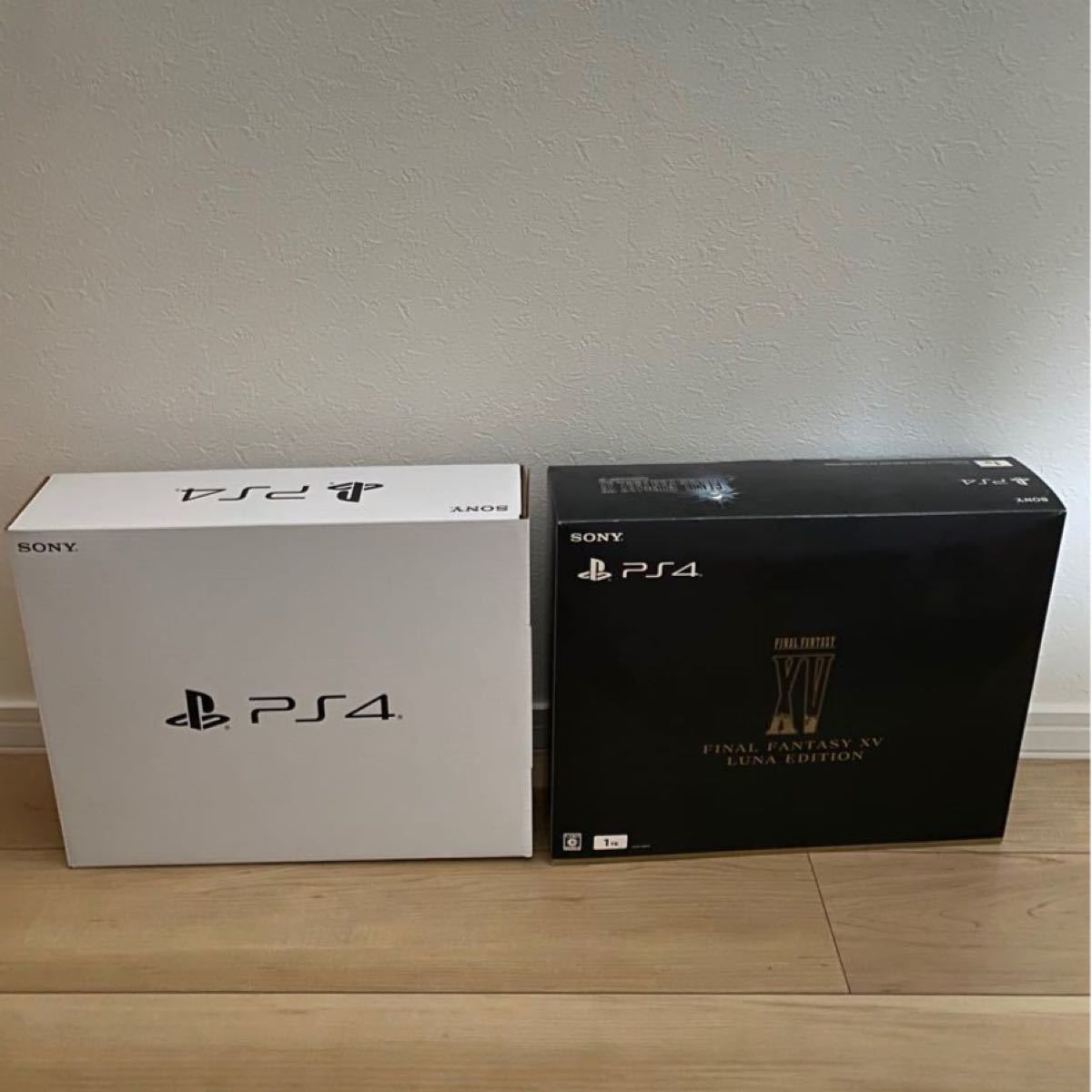 PS4 FINAL FANTASY XV LUNA EDITION (1TB)