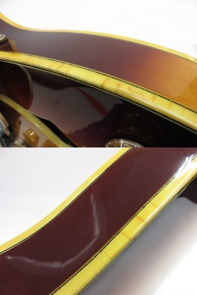 092s☆Ibanez AS200 Violin Sunburst アイバニーズ イバニーズ セミアコ エレキギター ※中古_画像8