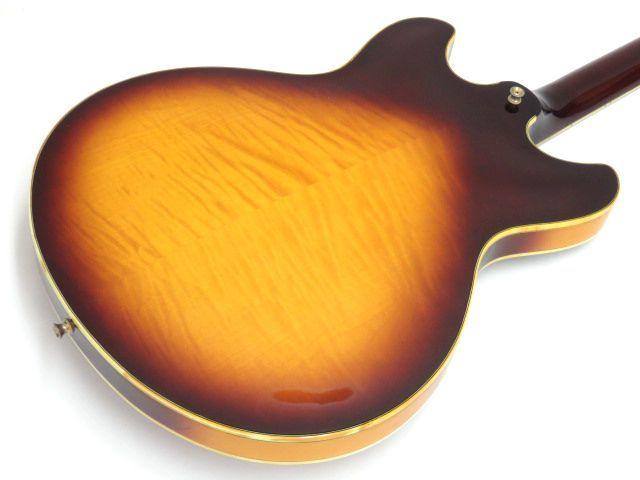092s☆Ibanez AS200 Violin Sunburst アイバニーズ イバニーズ セミアコ エレキギター ※中古_画像4