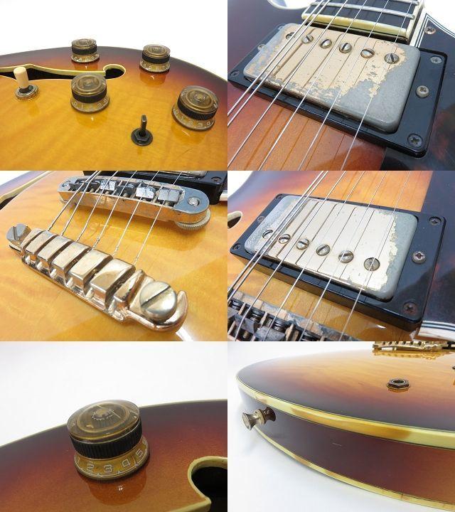 092s☆Ibanez AS200 Violin Sunburst アイバニーズ イバニーズ セミアコ エレキギター ※中古_画像5