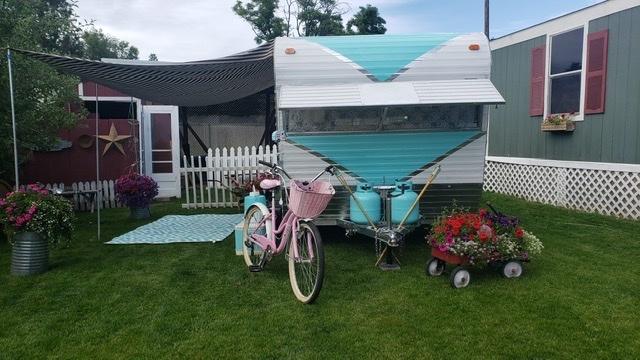 「キャンピングトレーラー レストア済 新規輸入車 50's 60's ガーデンオフィス キャンプ 仕事部屋 キッチンカー」の画像2