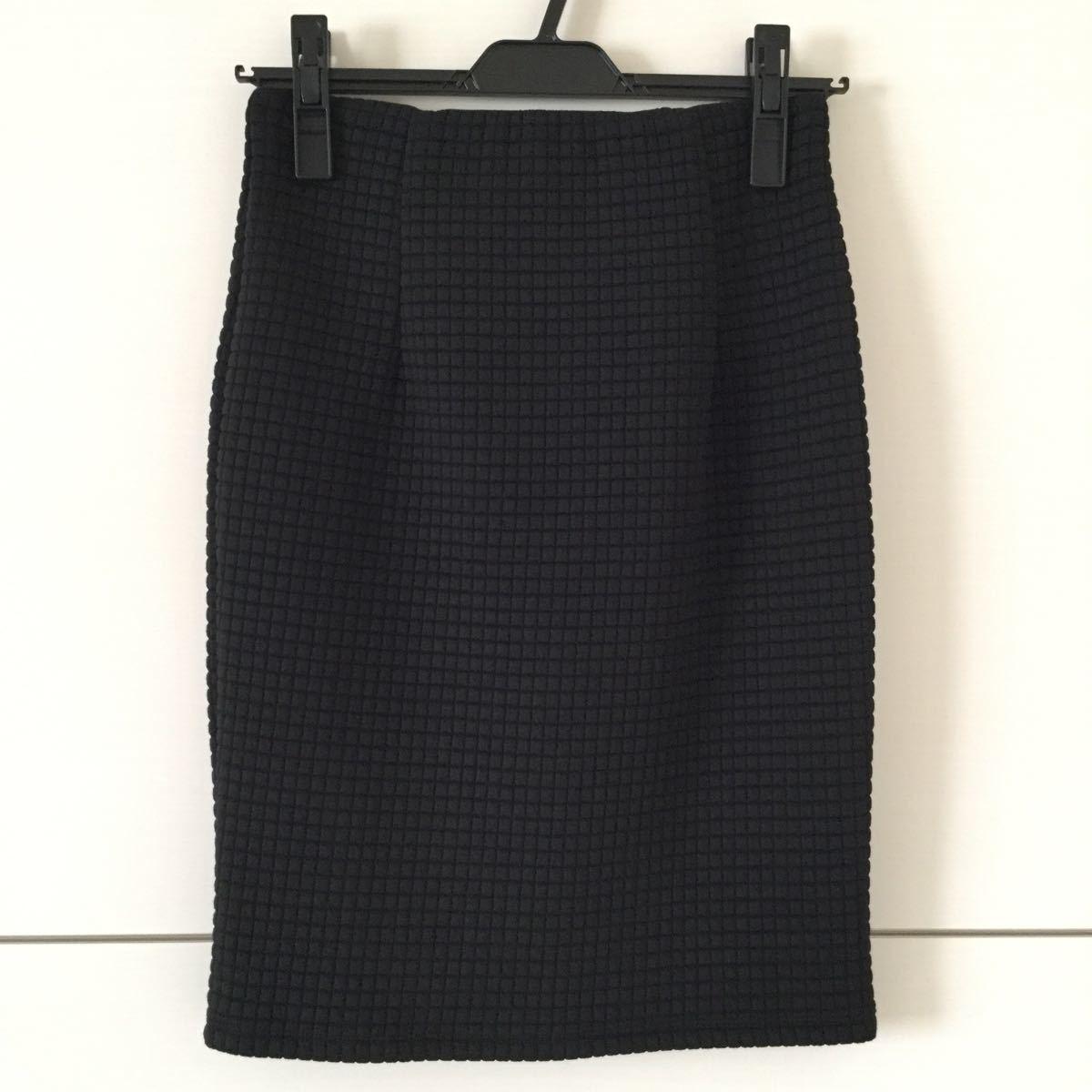 アンドバイピンキー&ダイアン ブラックスカート