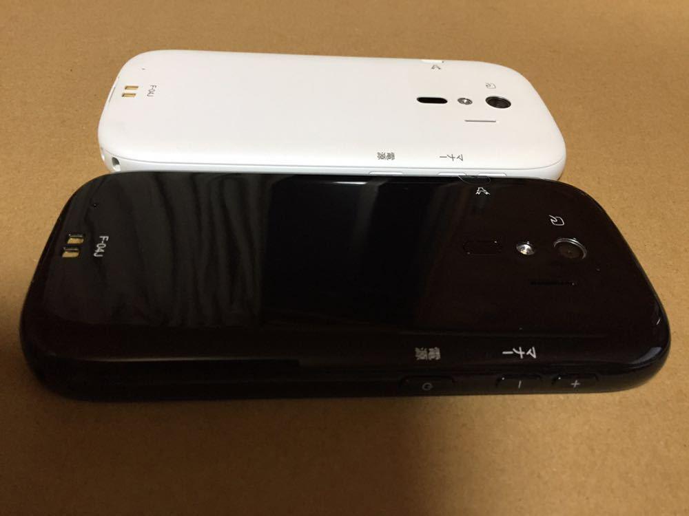 富士通 らくらくスマートフォン4 型番:F-04J ブラック ホワイト 美品 ドコモ docomo_画像7