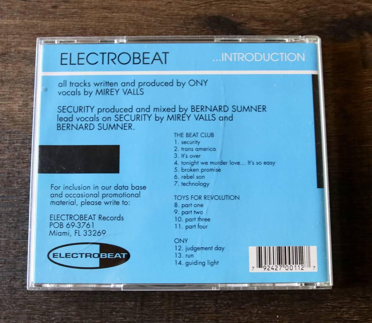 † ディスク美中古 1993年 † ELECTROBEAT ...INTRODUCTION / The Beat Club Toys For Revolution Ony / アルバム CD†格安即決/送料180円 _画像2