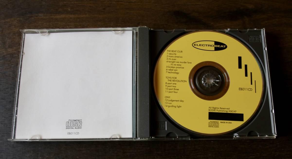 † ディスク美中古 1993年 † ELECTROBEAT ...INTRODUCTION / The Beat Club Toys For Revolution Ony / アルバム CD†格安即決/送料180円 _画像4