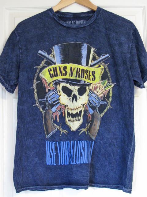 ■激レア■90s GUNS N'ROSES バンドTシャツ ガンズ・アンド・ローゼズ USE YOUR ILLUSION 91 全米ツアー1991年製 ビンテージ_画像1