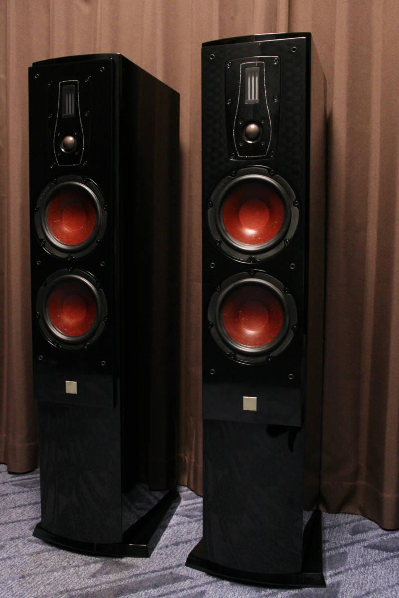 ハイエンドチューン DALI MENTOR6 特注ピアノブラック&マイカブラック塗装 ネットワー