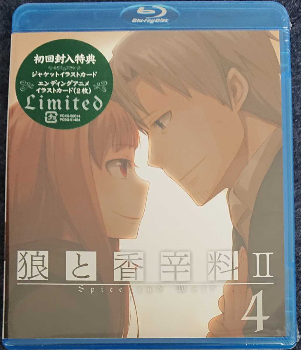 新品即決/送料無料 狼と香辛料II【4】 [Blu-ray] 国内正規品_画像1