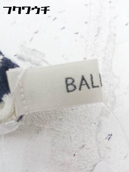 ◇ BALLSEY ボールジー ボーダー ウール ニット 長袖 タートルネック セーター アイボリー ネイビー * 1002799972123_画像3