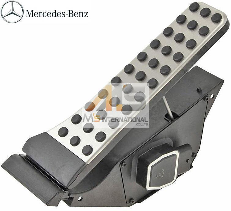 【M's】ベンツ AMG R231 SLクラス / W222 W217 Sクラス (セダン/クーペ) 純正品 アクセルペダル モジュール//2223001100 222-300-1100_画像1