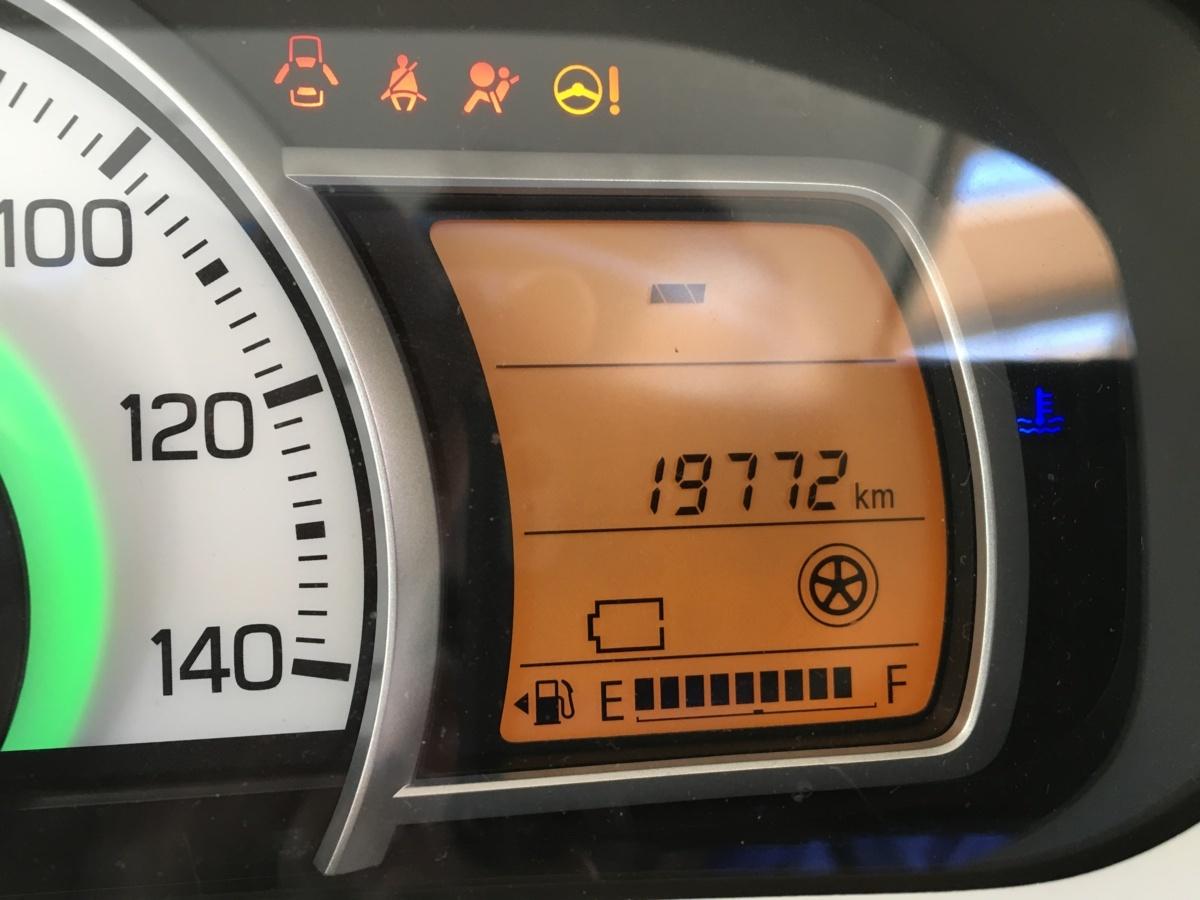 キャロル HB36S スピードメーター (19,772km)_画像2