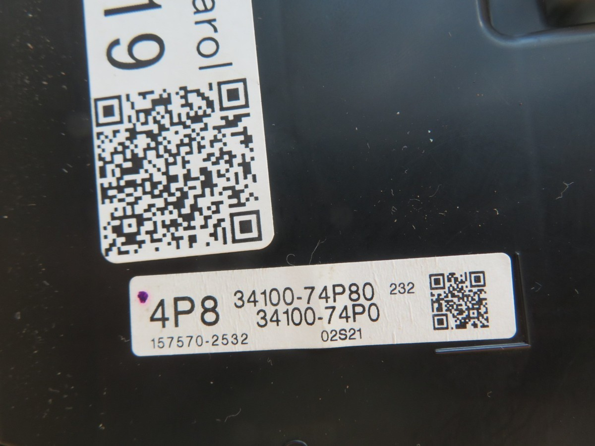 キャロル HB36S スピードメーター (19,772km)_画像5
