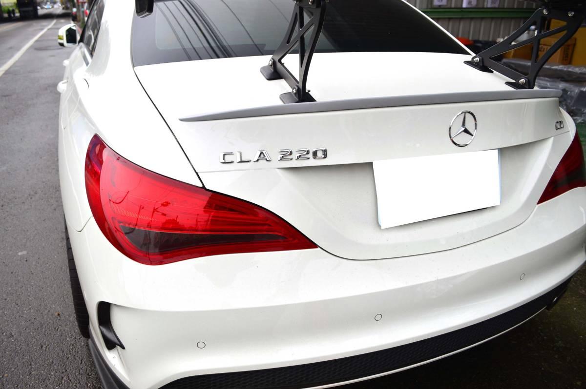 ベンツ CLA W117 C117 セダン FRP リアスポイラー塗装 トランクスポイラーM3 純正色対応_画像5