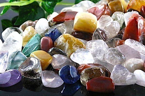 【送料無料】 200g さざれ 大サイズ ミックスジェムストーン 水晶 パワーストーン 天然石 ブレスレット 浄化用 さざれ石 チップ ※2_画像5