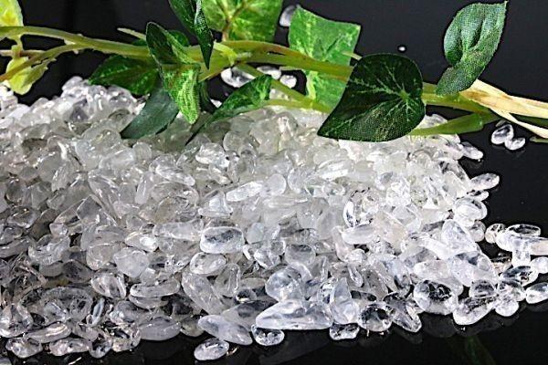 【送料無料】たっぷり 500g さざれ 小サイズ ヒマラヤ 水晶 クオーツ パワーストーン 天然石 ブレスレット 浄化用 さざれ石 チップ ※5_画像4