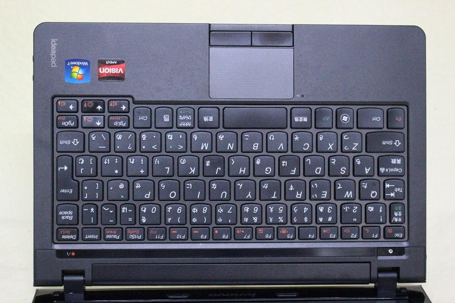 中古 11.6 型 Lenovo Ideapad S205 AMD E350 @ 1.60 GHz 320GB メモリ 4GB Windows 10 訳あり_画像6