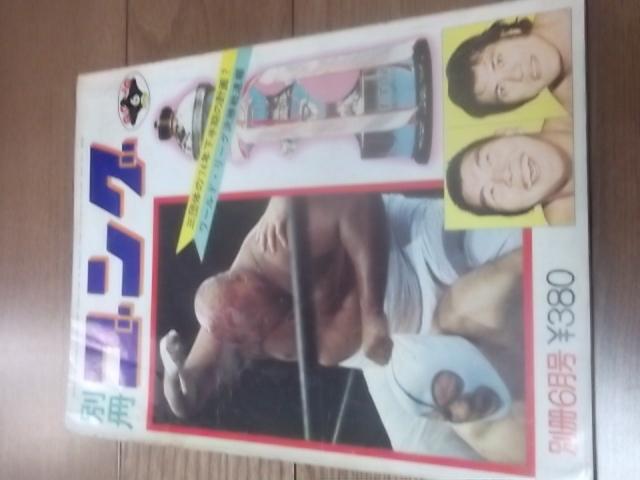 日本スポーツ。別冊ゴング1974年6月号。マスカラス。馬場。プロレス。デストロイヤー。猪木_画像1