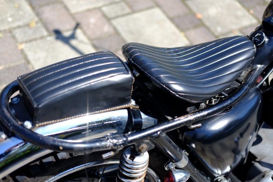 トライアンフ '72 T120 650cc ヴィンテージスクランブラー ローン可 (検索)ワッセル BATES フランダース 650最終型_画像6