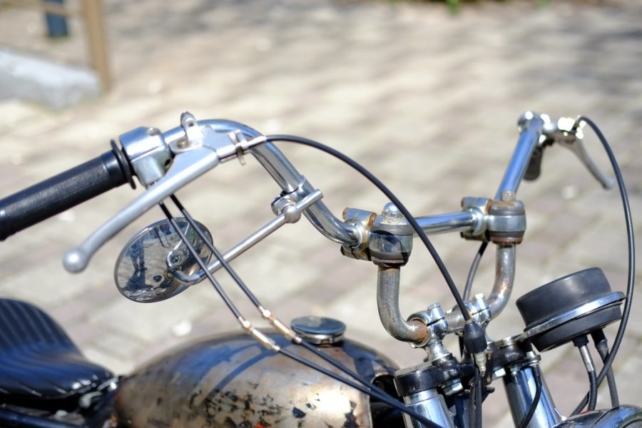 トライアンフ '72 T120 650cc ヴィンテージスクランブラー ローン可 (検索)ワッセル BATES フランダース 650最終型_画像7