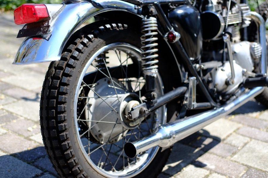 トライアンフ '72 T120 650cc ヴィンテージスクランブラー ローン可 (検索)ワッセル BATES フランダース 650最終型_画像9