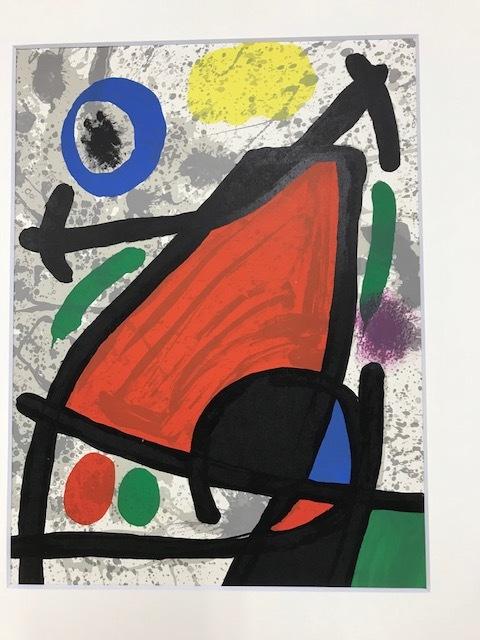 【特価】 ≪    ミロ    ≫  オリジナルリトグラフ【石版画】 Ⅹ  1970年  JOAN MIRO  DERRIERE LE MIROIR