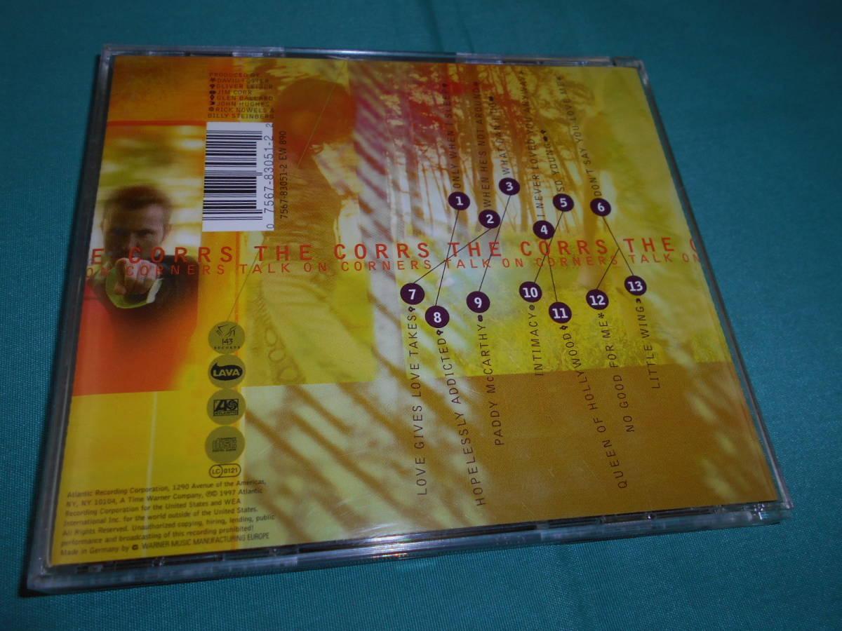 CD/ THE CORRS TALK ON CORNER 輸入盤 コアーズ_画像2