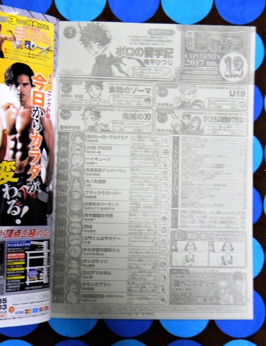 週刊少年ジャンプ2017年12号鬼滅の刃 センターカラー 吾峠呼世晴_画像4